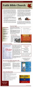 FBC-newsletter Fall 2013 one page